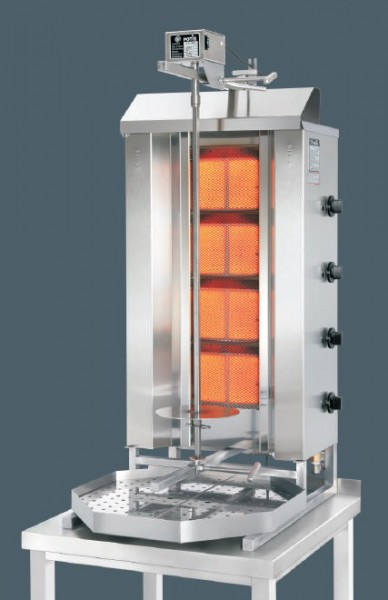 potis gd4 gas d nergrill gyrosgrill f r fl ssiggas oder erdgas f r 50 kg infrarot. Black Bedroom Furniture Sets. Home Design Ideas