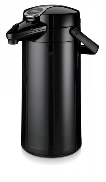 bonamat airpot furento 2 2 liter isolierkanne mit glas innenzylinder kaffeemaschinen. Black Bedroom Furniture Sets. Home Design Ideas