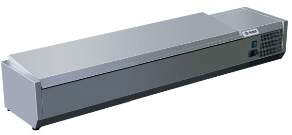 KBS Kühlaufsatz mit CNS-Deckel RX 2010 für 9 x GN 1/3