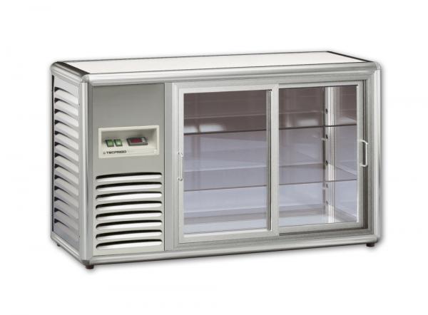 KBS Aufsatzkühlvitrine Orizont 200 Q - SILBER