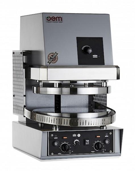 OEM PF35MT Pizzateig-Presse - 35 cm Durchmesser mit 2 mm gesenkter Teller
