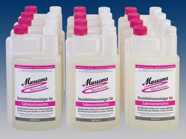 Mussana Microclean Neu 12 Flaschen