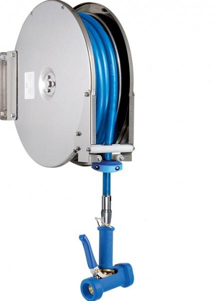 """Knauss armag brom Schlauchaufroller 1/2"""" 10 Meter Automatischer Schlauchaufroller PR.667.810.T100"""
