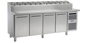 Gram GASTRO K 2207 CSG PT DL/DL/DL/DR L2 - Kühltisch mit Belegstation- 1/1 GN
