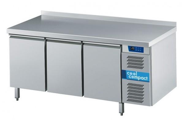 Cool Compact Kühltisch 3 x GN 1/1 Magnos Tiefe 700 - 3 Türen Umluftkühlung