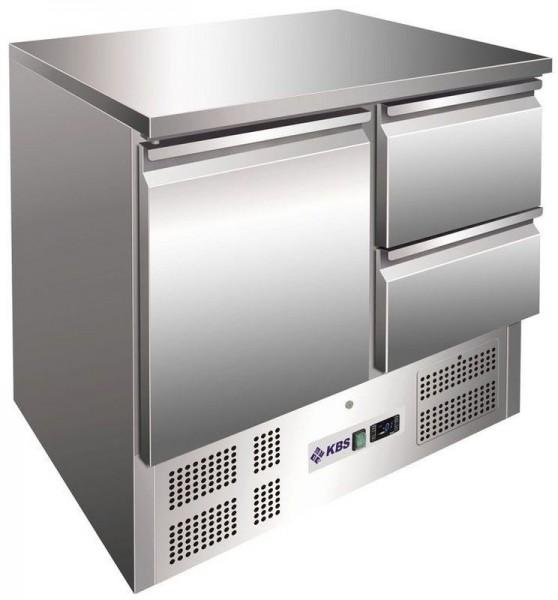KBS KTM 202 Kühltisch mit 1 Tür und 2 Schubladen