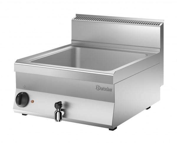 Bartscher Elektro-Bain-Marie 1/1 GN + 2 x 1/4 GN, Serie 650 Snack - Tischgerät
