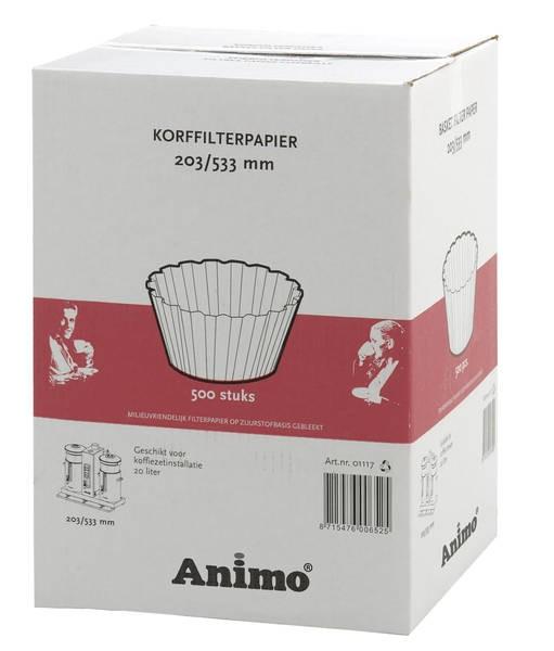 Animo Korbfilterpapier 203/533 für CombiLine CB 20
