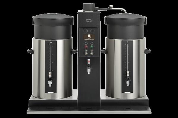 Animo CB 2x20W Combi-Line Kaffeemaschine Großbrühanlage mit Heisswasserhahn 400 Volt