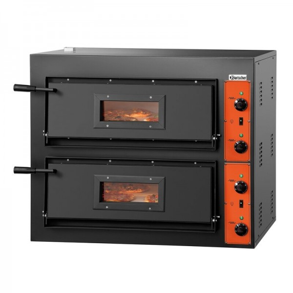 Bartscher CT 200 Pizzaofen 2002020 für 8 Pizzen Ø 30 cm (2 x 4 Pizzen)