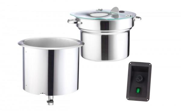 Scholl 3000/ST Einbau-Suppentopf - Inhalt 9 Liter VK-009254