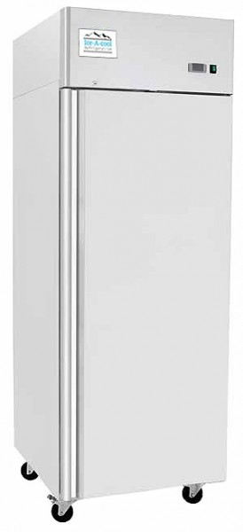 ICE-A-COOL Gewerbekühlschrank 670 Liter Edelstahl  IC8116GR