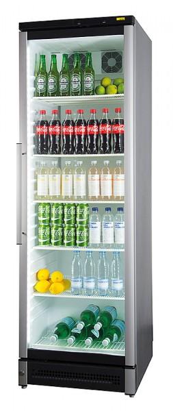 Nordcap Glastürkühlschrank M 180 mit Umluftkühlung und Glastür