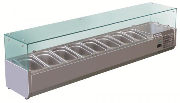 KBS RX 1800 Kühlaufsatz mit Glasaufbau 340180