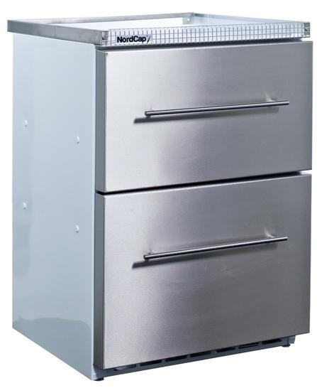 Nordcap Gewerbekühlschrank HAMBURG 2 180-2-Z mit Umluftkühlung