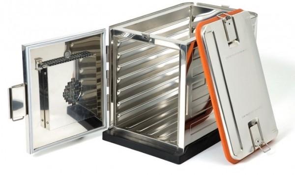 Rieber 1000 DU Thermoport Edelstahl, zuheizbar mit Ausgabefunktion