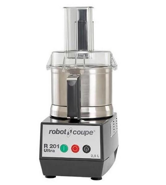 Robot Coupe R 201 XL Ultra Kombigerät Tischkutter & Gemüseschneider  mit 2 Scheiben -Set
