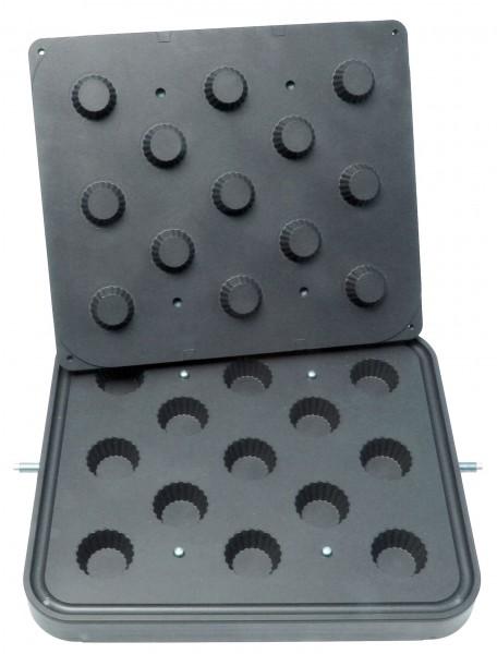 Neumärker Backplatte Cupcakes - für Tartlet-Basisgerät