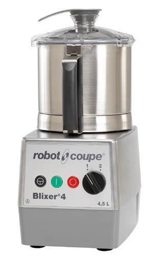 Robot Coupe Blixer 4 mit 400 Volt - Emulgator-Mixer mit 2 Drehzahlen