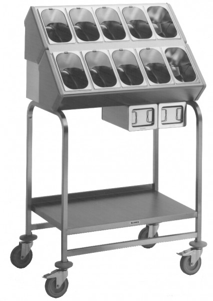 Blanco BT 800 Besteck und Tablettwagen