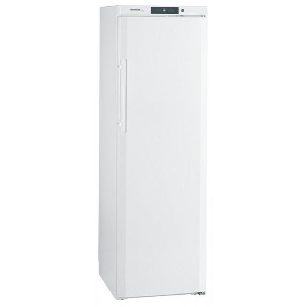 Liebherr GKv 4310 Umluftkühlschrank  Stahl weiß Volltür