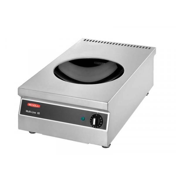 Scholl SH/WO 3000-ML Multi-Flex Induktionswok 1 x 3000 Watt - 230 Volt - mit Flex-Steuerung