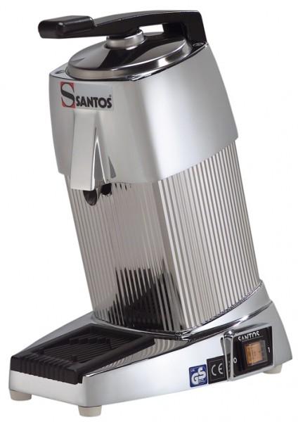 Santos 10C Saftpresse verchromt - Zur Befüllung von Gläsern, Ausgusshöhe 135 mm.