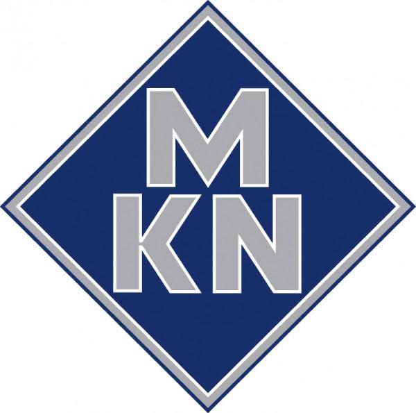 MKN Edelstahl-Wokpfanne für INDUKTION WOK Counter SL