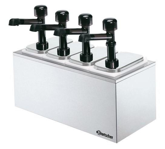 Bartscher Pumpstation 4 für 4 x  3,3 Liter