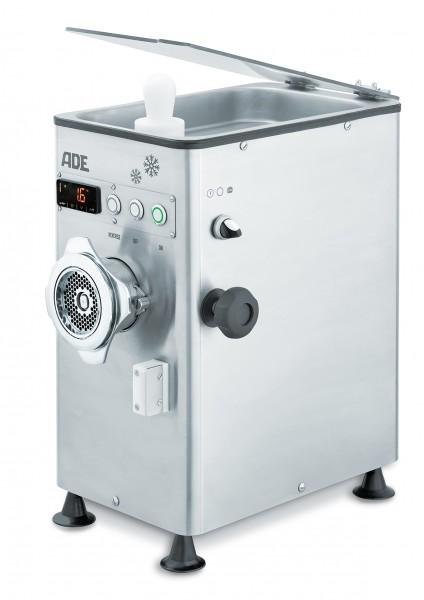 ADE FL82-COOL-400 Fleischwolf mit Kühlung und Pattymaker-Aufsatz – Serie FL-Cool  400 Volt Anschluss