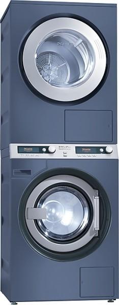 Miele Wasch-Trocken-Säule PWT 6089 Vario XL  LP Laugenpumpe / Ablufttrockner octoblau für 9 kg