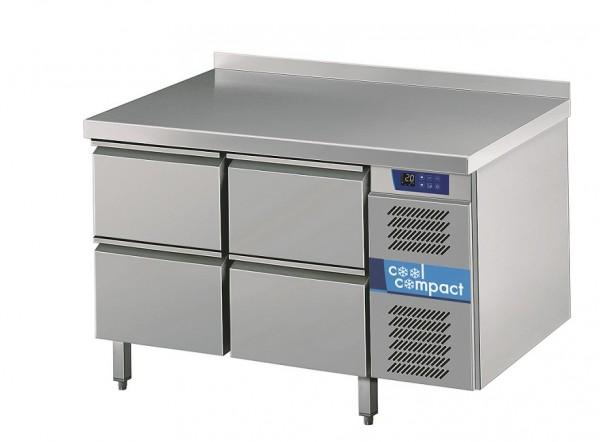 Cool Compact Kühltisch Magnos mit 4 Zügen - Umluftkühlung  - steckerfertig KTM721161-MS-2/2