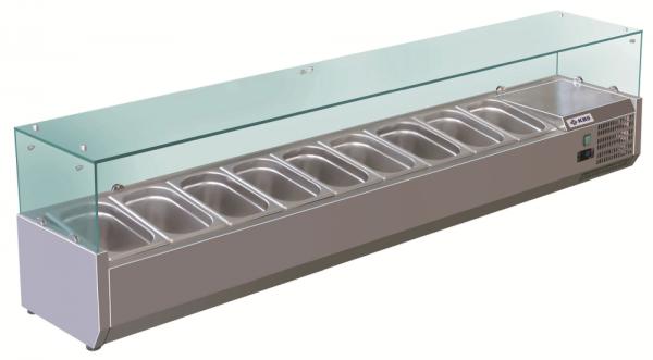 KBS RX 2000 Kühlaufsatz mit Glasaufbau 340200