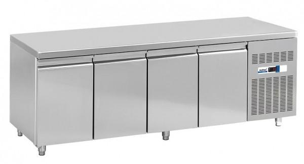 COOL-LINE KT 2260 4T Kühltisch GN 1/1 mit vier Türen - Breite 2260 mm