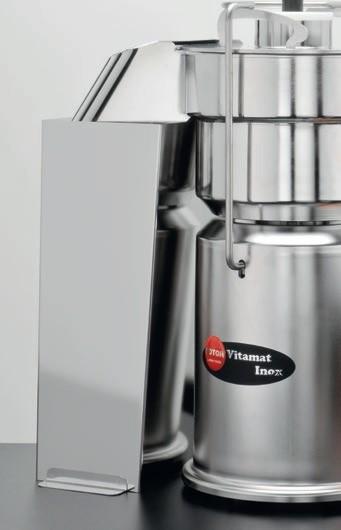 Saftzentrifuge Rotor Vitamat Inox mit Edelstahlschacht