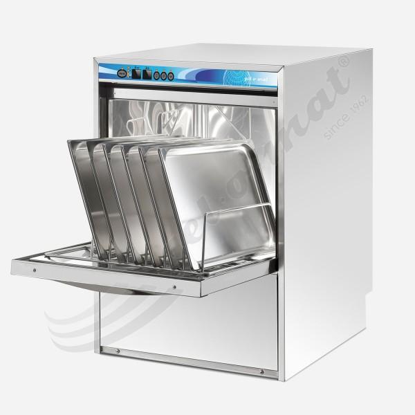 Gel-o-mat Spülmaschine E GS 60 KX- Universalspülmschine GN 1/1 und 60x40 ohne Wasserenthärter