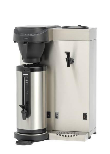Animo Kaffeemaschine MT200W mit Heißwasserhahn und Wasseranschluss