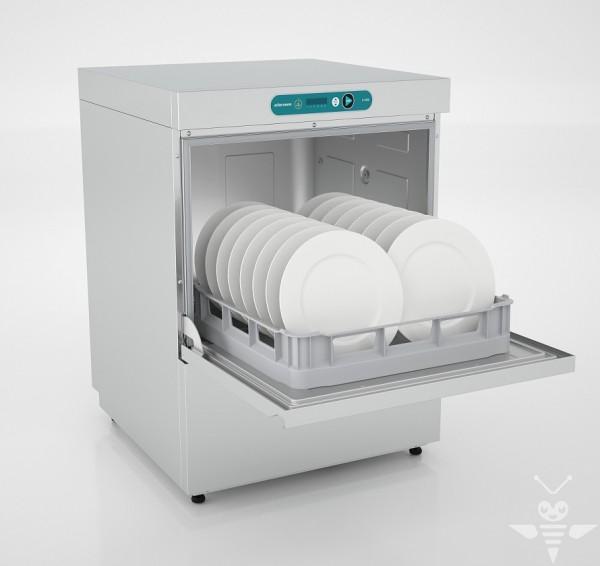 Ackermann U 540 Geschirrspülmaschine ohne eingebauter Wasserenthärtung - 400 Volt
