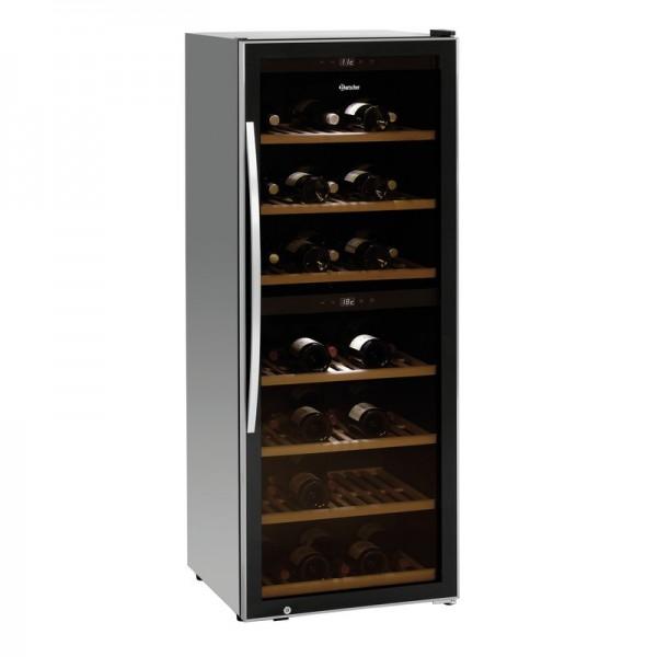 Bartscher Weinkühlschrank 2Z 126FL mit 2 Temperaturzonen