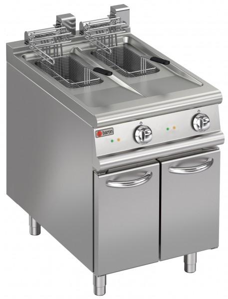 AFG Baron FRIE715-10 Elektro-Friteuse 2 x 10 Liter Serie QUEEN7 Tiefe 700 mm
