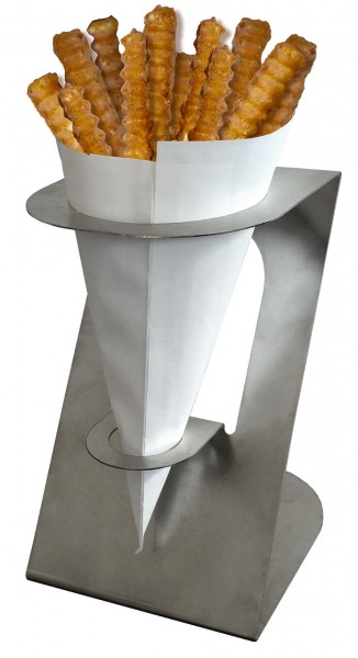Neumärker Spitztütenhalter für Pommes-Waffeln und Bubble Waffeln