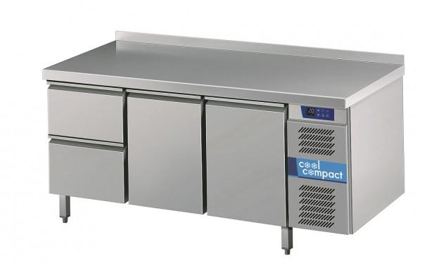 Cool Compact Kühltisch Magnos 2 Türen und 2 Züge  Tiefe 700 für GN 1/1 - Breite 1725 mm