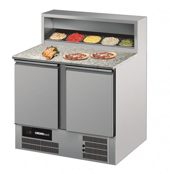 Chromonorm Pizzakühltisch mit 2 Türen CKTP079500EV