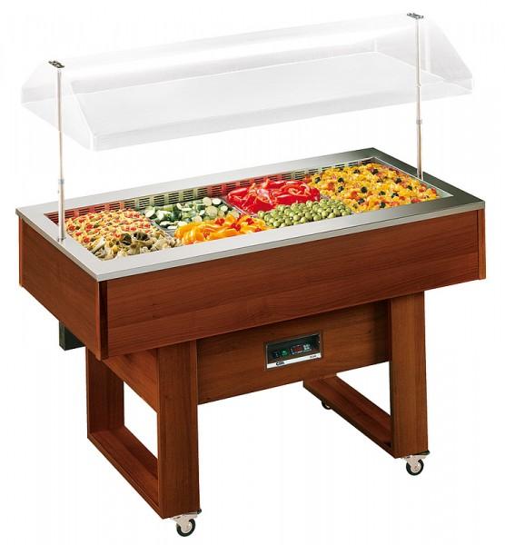 COOL-LINE Salatbar/Buffet DELIZIE M 4x GN 1/1 mit automatischer Haubenbetätigung