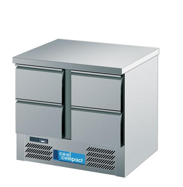 Cool Compact KT95-4 Kühltisch Magnos mit 4 Schubladen - Made in Germany