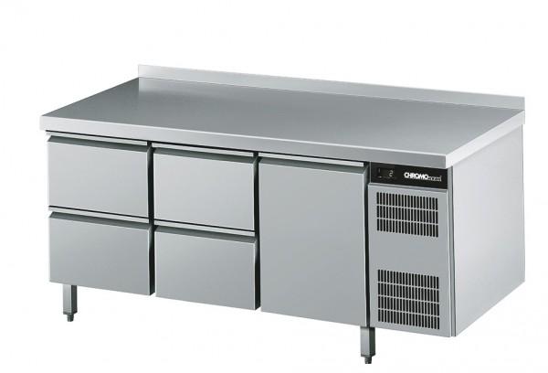 Chromonorm Kühltisch GN 1/1, mit 1 Tür und 4 Schubladen - Breite 1725 mm CKTEK7311601-2/2/1