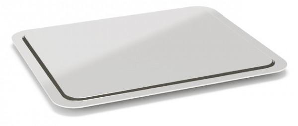 Rieber Kühlplatte GN 1/1 asymmetrisch Edelstahl für Thermoporte