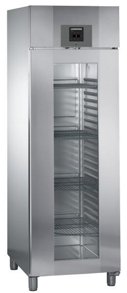 Liebherr GKPv 6573 ProfiLine Glastür-Kühlschrank für GN 2/1 Edelstahl
