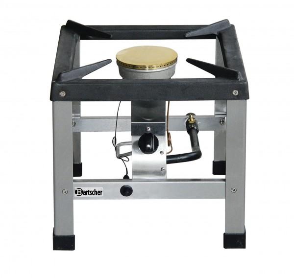 Bartscher Gas-Hockerkocher - einfache Ausführung