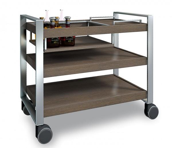 Ebinger Digestifwagen Getränke-Servierwagen 0565 3-etagig